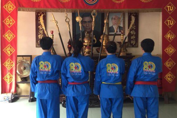 Võ phục Vovinam Việt Võ Đạo